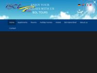 Frontpage screenshot for site: Bol-tours turistička agencija u Bolu (http://www.boltours.com)