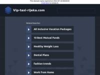 Slika naslovnice sjedišta: VIP Car Taxi servis Rijeka (http://www.vip-taxi-rijeka.com/)