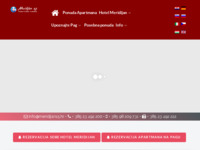Frontpage screenshot for site: Meridijan15 (http://www.meridijan15.hr/)