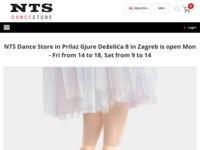 Slika naslovnice sjedišta: NTS sportswear - Specijalizirana trgovina za ples i fitness (http://www.ntssportswear.hr/)