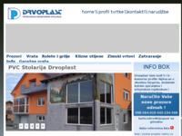 Slika naslovnice sjedišta: Drvoplast - obrt za proizvodnju građevinske stolarije (http://www.drvo-plast.hr/)