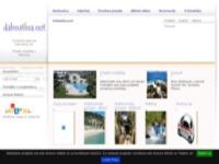 Frontpage screenshot for site: Apartmani na Jadranu i u Dalmaciji (http://www.dalmatina.hr/)