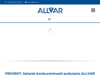 Slika naslovnice sjedišta: Allvar d.o.o. (http://www.allvar.hr)