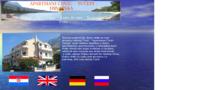 Frontpage screenshot for site: Privatni smještaj obitelji Čović, Tučepi (http://free-st.htnet.hr/Antonio-Covic/)