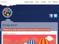 Slika naslovnice sjedišta: Balon klub Zagreb (http://www.baloni.hr/)