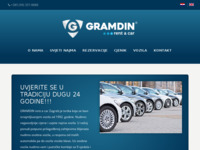 Slika naslovnice sjedišta: Gramdin Rent-a-Car (http://www.gramdin.hr/)