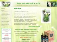 Slika naslovnice sjedišta: Noni sok izvorni (http://www.noni-sok.savjeti.com)