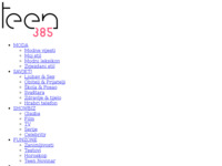 Slika naslovnice sjedišta: teen385 (http://www.teen385.com/)