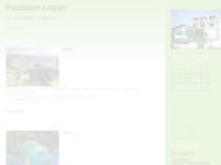 Frontpage screenshot for site: Pansion Lopar (http://pansionlopar.blog.hr/)