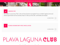 Frontpage screenshot for site: Istraturist Umag d.d. (http://www.istraturist.hr/)