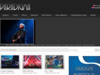 Frontpage screenshot for site: Paradigma d.o.o., Osijek (http://www.paradigma.hr/)