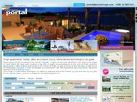Frontpage screenshot for site: Turistička agencija Portal (http://www.portal-trogir.com)