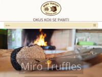 Slika naslovnice sjedišta: Miro tartufi (http://www.miro-tartufi.com/)