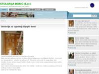 Slika naslovnice sjedišta: Drvena stolarija Borić (http://www.stolarijaboric.com)