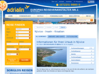 Slika naslovnice sjedišta: Njivice (http://www.kroatien-adrialin.de/ortsinfos/njivice/)