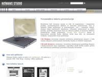 Slika naslovnice sjedišta: Nomans Web dizajn studio (http://www.nomans.com)