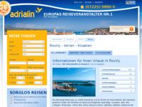 Slika naslovnice sjedišta: Rovinj (http://www.kroatien-adrialin.de/ortsinfos/rovinj/)