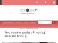 Frontpage screenshot for site: Rondo - Zagreb (http://www.rondo.hr)