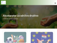 Frontpage screenshot for site: (http://www.acc.hr)