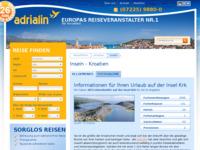 Slika naslovnice sjedišta: Krk (http://www.kroatien-adrialin.de/ortsinfos/insel-krk/)