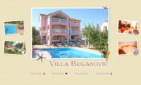 Frontpage screenshot for site: Villa Beganovi Krk, apartmani Krk (http://www.villa-beganovic.com)