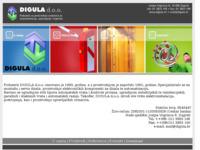 Slika naslovnice sjedišta: Digula d.o.o. (http://www.digula.hr)