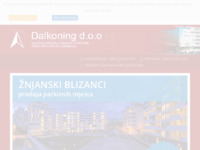 Frontpage screenshot for site: Dalkoning d.o.o. (http://www.dalkoning.hr)