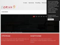 Slika naslovnice sjedišta: Doriva d.o.o. - uredski stolci i namještaj (http://www.doriva.hr/)