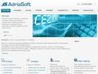 Slika naslovnice sjedišta: AdriaSoft - razvoj softvera (http://www.go2cro.com/adriasoft)