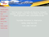 Slika naslovnice sjedišta: Rolo-dekor (http://free-kc.htnet.hr/rolo-dekor/)