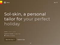 Frontpage screenshot for site: Sol-Skin, turistička agencija (http://www.sol-skin.com/)