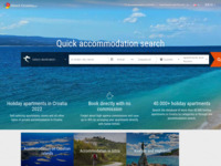 Slika naslovnice sjedišta: Hrvatska - Informacije za turiste (http://www.croatia-official.com)