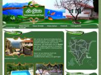 Frontpage screenshot for site: Kuća za odmor (http://www.ravni.hr/)