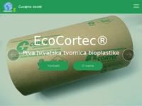 Slika naslovnice sjedišta: Ecocortec tvornica biorazgradivih folija (http://www.ecocortec.hr)