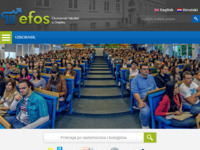 Slika naslovnice sjedišta: Ekonomski fakultet (http://www.efos.hr/)