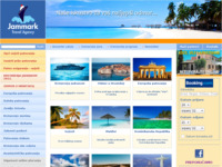 Frontpage screenshot for site: Turistička agencija Jammark (http://www.jammark.hr/)