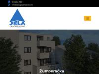 Frontpage screenshot for site: Jela graditeljstvo d.o.o. (http://www.jela-graditeljstvo.hr/)
