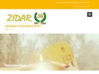 Slika naslovnice sjedišta: Zidar - građevinarstvo i autoprijevozništvo (http://www.zidar-trsce.hr)