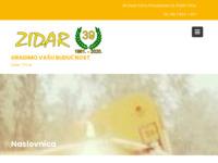 Frontpage screenshot for site: Zidar - građevinarstvo i autoprijevozništvo (http://www.zidar-trsce.hr)