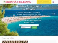 Slika naslovnice sjedišta: Portal Croatia Holidays (http://www.croatia-holidays.net/)