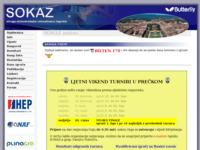 Slika naslovnice sjedišta: SOKAZ - Udruga stolnotenisača rekreativaca Zagreba (http://www.sokaz.hr)