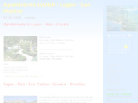 Frontpage screenshot for site: Apartmani i  stanovi za odmor (http://dania.blog.hr/)