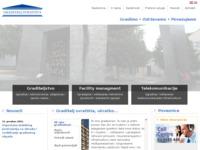 Frontpage screenshot for site: Graditelj svratšita - Poduzeće za graditeljstvo, proizvodnju i usluge. (http://www.graditeljsvratista.hr/)