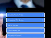 Slika naslovnice sjedišta: Ecopiedra - Hrvatska (http://ecopiedra.info/)