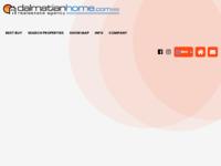 Frontpage screenshot for site: Dalmatian Home (http://www.dalmatianhome.com/)