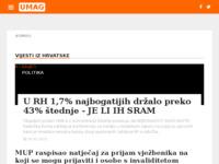 Slika naslovnice sjedišta: Umag - Hrvatska (http://umag-portal.com/)