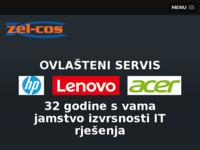 Frontpage screenshot for site: Zel-Cos d.o.o. (http://www.zel-cos.hr)