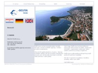 Frontpage screenshot for site: Delfin Tours (http://www.delfin-tours.hr/)