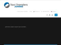 Slika naslovnice sjedišta: Taxi transferi Zadar (http://www.johnnie.hr)