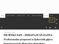 Slika naslovnice sjedišta: dr.Myko San (http://www.zdravljeizgljiva.hr)